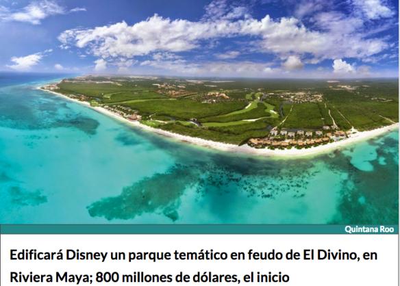 Disney en Playa del Carmen